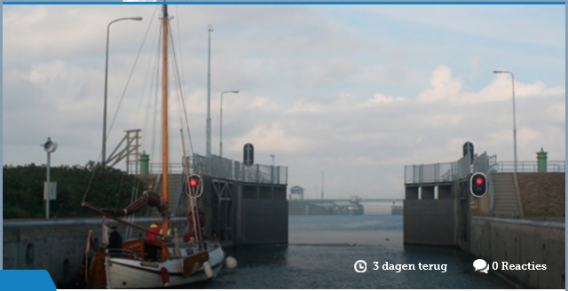 """Meer weten over de """"Bouw nieuwe sluis in Kornwerderzand""""!"""